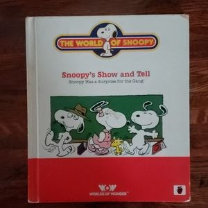 Snoopy Childrens Book 1986